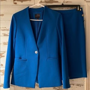 Limited Sharp Blue Suit WORN ONE TIME!